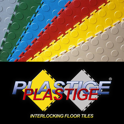 Interlocking floor tiles DIY