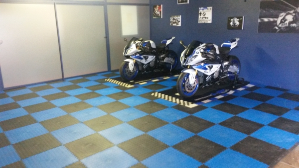 Garage Floors Interlocking Pvc Floor Tiles And Mats For