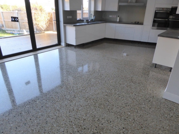 Super polished concrete for How to degrease concrete floor