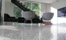Super polished concrete