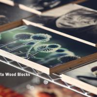 Photo quality printing on Wood blocks