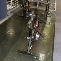 Can be fitted on top of carpeting - selected areas in your gym