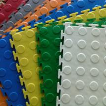 Plastige interlocking floor tiles - Premium colours