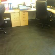 Plastige interlocking floor tiles - Applications