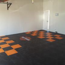 Personalized garage floors